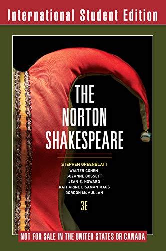 9780393263121: The Norton Shakespeare