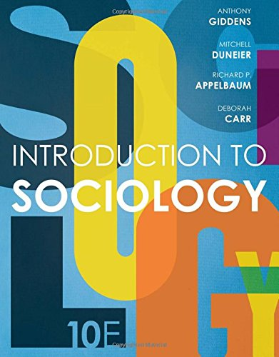 9780393264319: Introduction to Sociology (Tenth Edition)