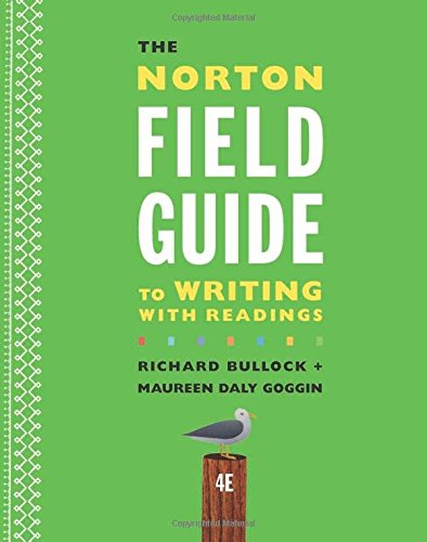 9780393264371: The Norton Field Guide to Writing with Readings (Fourth Edition)