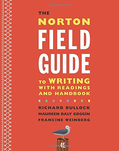 9780393264388 The Norton Field Guide To Writing With Readings
