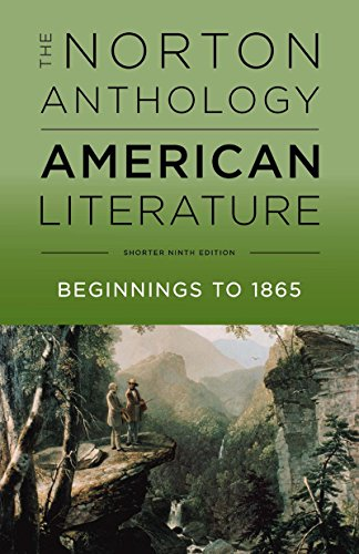 9780393264524: The Norton Anthology of American Literature