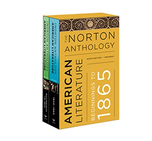 the norton anthology american literature 1700