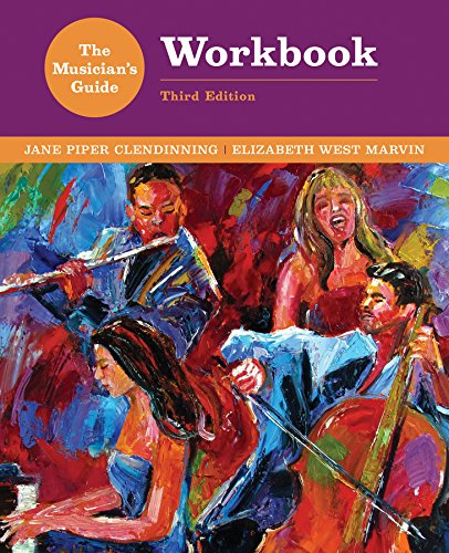 9780393264623: The Musician's Guide to Theory and Analysis Workbook (Third Edition)