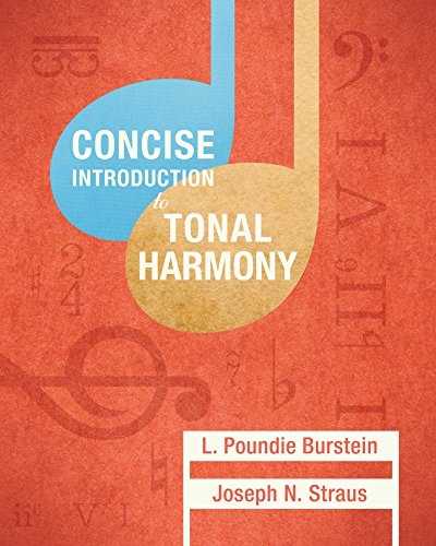 9780393264760: Concise Introduction to Tonal Harmony