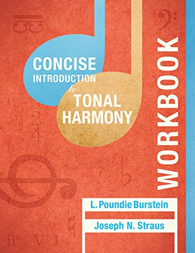 9780393264821: Student Workbook: for Concise Introduction to Tonal Harmony