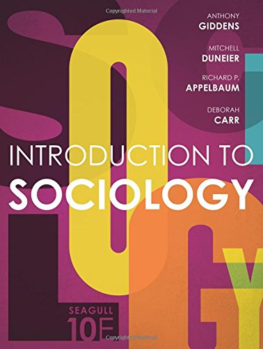 9780393265163: Introduction to Sociology (Seagull Tenth Edition)