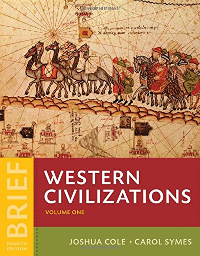 9780393265330: Western Civilizations: Their History & Their Culture (Brief Fourth Edition) (Vol. 1)