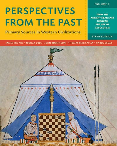 9780393265392: Perspectives from the Past: Primary Sources in Western Civilizations (Sixth Edition) (Vol. 1)