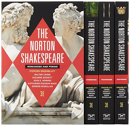 9780393265460: The Norton Shakespeare (Third Edition) (Vol. Four-Volume Set)