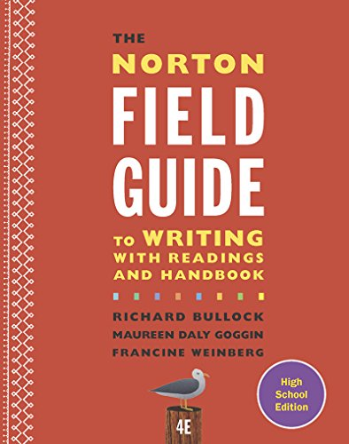 9780393265750: The Norton Field Guide to Writing with Readings and Handbook (Fourth High School Edition)