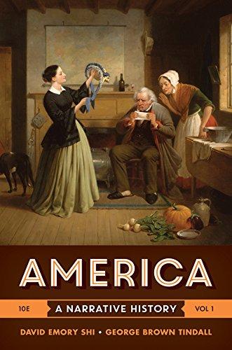 9780393265941: America: A Narrative History (Tenth Edition) (Vol. 1)