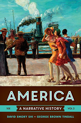 9780393265958: America: A Narrative History (Tenth Edition) (Vol. 2)