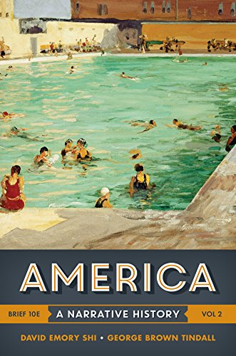 9780393265989: America: A Narrative History (Brief Tenth Edition) (Vol. 2)