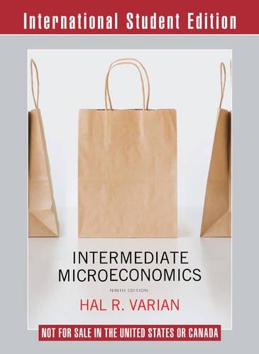 9780393275353: Intermediate Microeconomics a Modern Approach Workouts in Intermediate Microeconomics for Intermediate Microeconomics and Intermediate