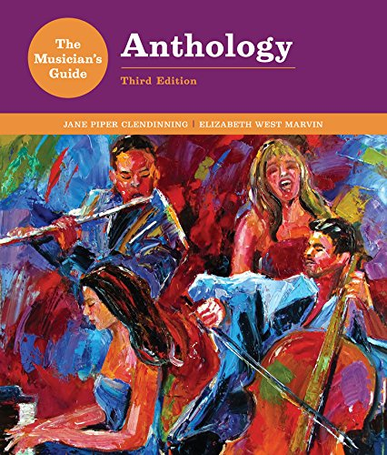 9780393283198: The Musician's Guide to Theory and Analysis Anthology (Third Edition)