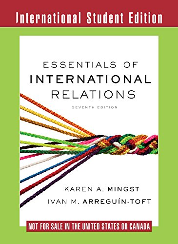 9780393283716: Essentials of International Relations