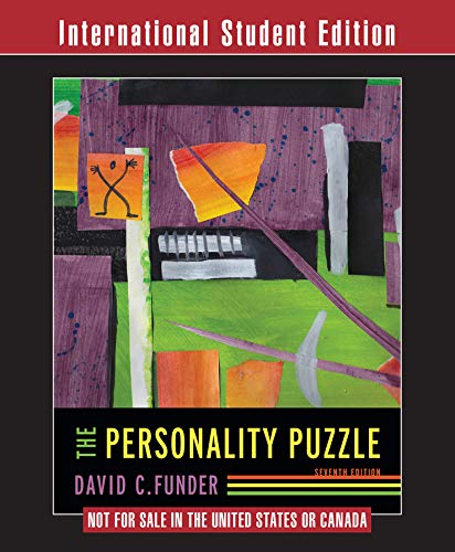 9780393283723: The Personality Puzzle