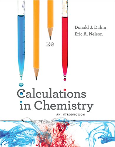 Calculations in Chemistry: An Introduction: Dahm, Donald J.,