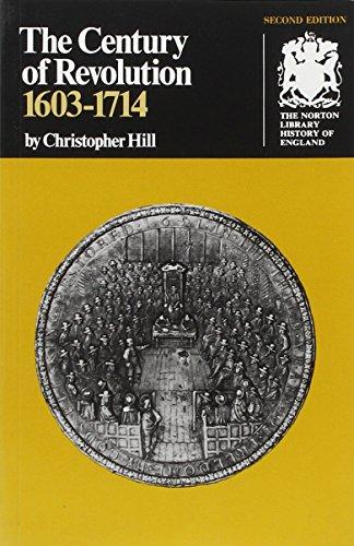9780393300161: Century of Revolution, 1603-1714