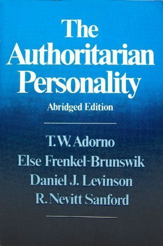 9780393300420: The Authoritarian personality (Studies in Prejudice)