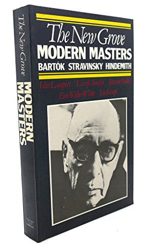 9780393300970: The New Grove Modern Masters (Composer Biography Series)