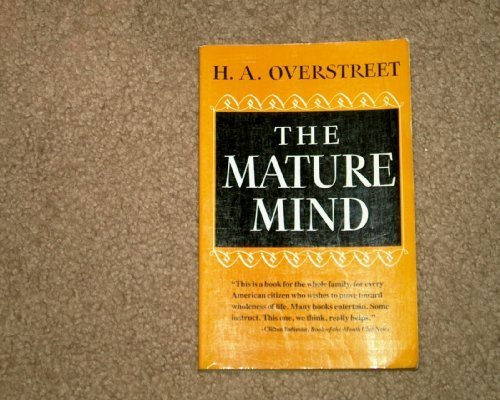 9780393301656: The Mature Mind (Norton library)
