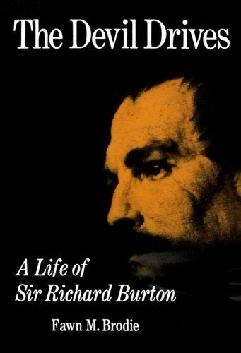 9780393301663: The Devil Drives: A Life of Sir Richard Burton