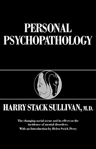 9780393301847: Personal Psychopathology (Early Formulations)