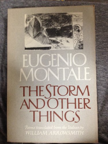 9780393302493: The Storm and Other Things (English and Italian Edition)