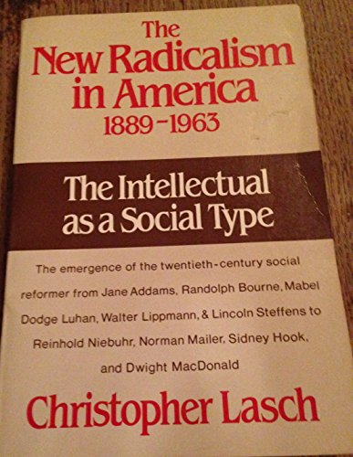 9780393303193: The New Radicalism in America, 1889-1963: The Intellectual As a Social Type (Norton paperback)
