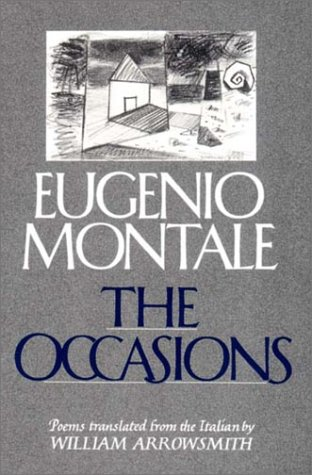 The Occasions: Montale, Eugenio