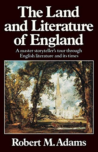 9780393303438: The Land and Literature of England: A Historical Account