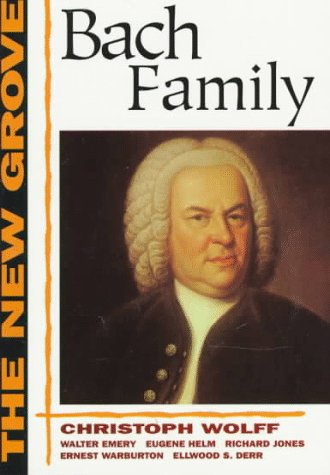 9780393303544: The New Grove Bach Family (The New Grove Series)