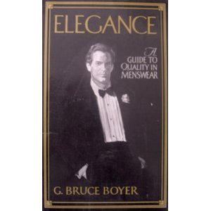 9780393304381: Elegance: a Guide to Quality in Menswear