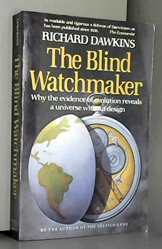 9780393304480: Blind Watchmaker Why the Evidence