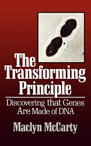 9780393304503: The Transforming Principle: Discovering That Genes Are Made of DNA (Commonwealth Fund Book Program)