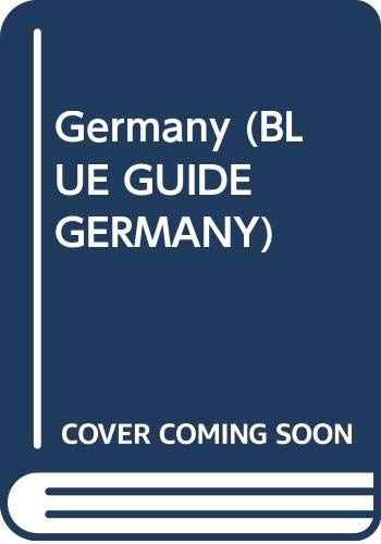 9780393304701: Germany (BLUE GUIDE GERMANY)