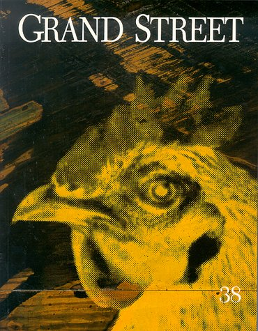 Grand Street 38 (Volume Ten, Number Two) [Vol., 10, X, No., #, 2]