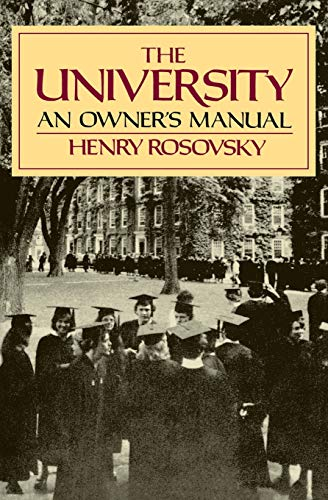 9780393307832: The University: An Owner's Manual