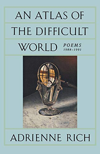 9780393308310: An Atlas of the Difficult World - Poems 1988-1991 (Paper)