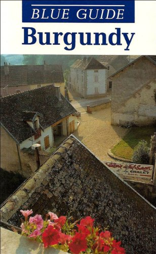 9780393308860: Blue Guide Burgundy (Blue Guides)