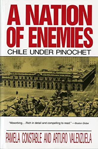 A Nation of Enemies: Chile Under Pinochet: Pamela Constable, Arturo