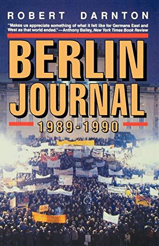 9780393310184: Berlin Journal, 1989-1990