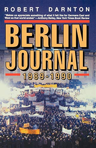 9780393310184: Berlin Journal, 1989-1990
