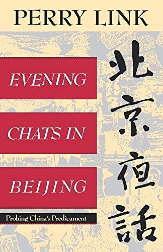 9780393310658: Evening Chats in Beijing: Probing China's Predicament