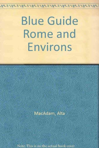 9780393312591: Blue Guide Rome and Environs