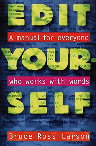 9780393313260: Edit Yourself: A Manual for Everyone Who Works with Words