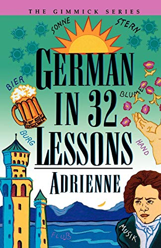 9780393314977: German in 32 Lessons (Gimmick (W.W. Norton))