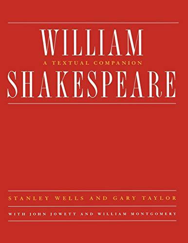 9780393316674: William Shakespeare: A Textual Companion