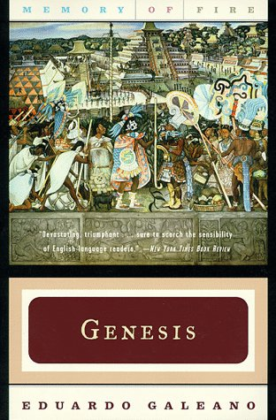 9780393317732: Genesis (Memory of Fire Trilogy, Part 1)